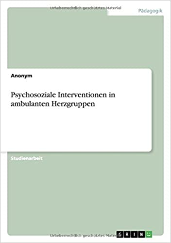 Psychosoziale Interventionen in ambulanten Herzgruppen