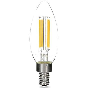 hudson lighting dimmable led candelabra bulb 1 pack ul listed 4 watt 400 lumen e12 led. Black Bedroom Furniture Sets. Home Design Ideas