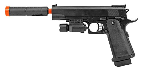 Airsoft Laser Handgun - Maistruker UKArms Spring Powered Airsoft Handgun P2001C