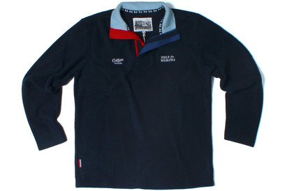 2c531468e8a Cotton Traders Help For Heroes Rugby Sweatshirt Navy: Amazon.co.uk: Clothing