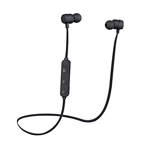 cf7d1af393f KSCAT Bluetooth Headphones Wireless 4.1 Magnetic Earbuds Stereo Earphones  Secure Fit for Sports with Built-