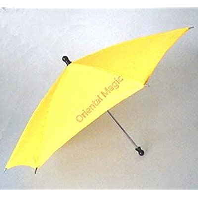 Parasol Production Umbrella (8 Colors Avaialble) Magic Tricks , Party Tricks, Amazing Tricks , Magic Kit,Parasol Production Magic (Black): Toys & Games