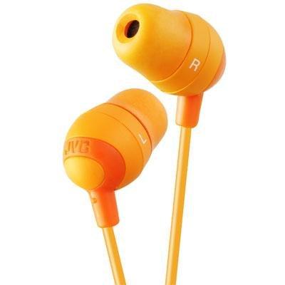 JVC Marshmallow Inner Ear Orange / HAFX32D - Headphones Marshmallow Orange