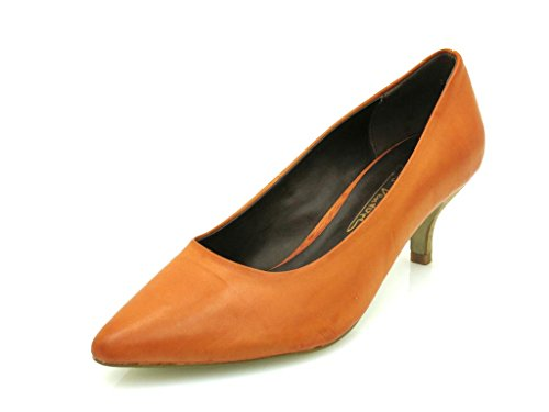 Gino Ventori - classic Court shoes - Ladies' shoes - High Heels - turquoise - orange Orange QpYCnAxw