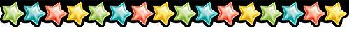 (Creative Teaching Press Rainbow Mylar Balloon Stars Border (8514) )