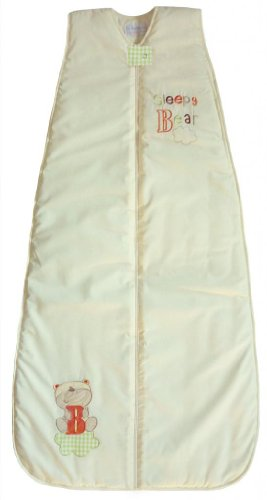 LIMITED TIME OFFER! The Dream Bag Baby Sleeping Bag Sleepy Bear 6-18 Months 2.5 TOG - Cream (B Cloud Bear)