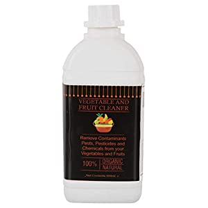 Vegetable and Fruit Cleaner Organic Liquid Concentrate for Removing pests and Chemicals (Dark Brown, 500 ml)