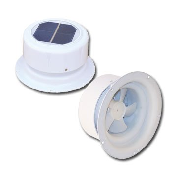 Ultra-Fab Products 53-945001 Mini Solar Plumbing Vent