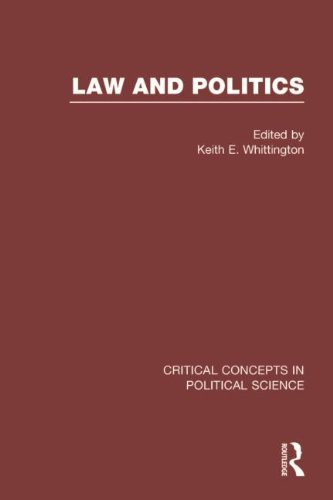 Law and Politics (Critical Concepts in Political Science)