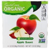 Santa Cruz Applesauce Pouch Reg 4pk Org
