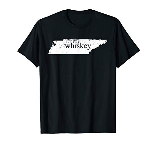 Tennessee Whiskey TShirt TN State Home Smooth Sour Mash Tee