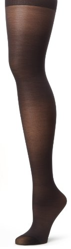 Hanes Silk Reflections Women's Alive Full Support Control Top Pantyhose, Jet, E ()