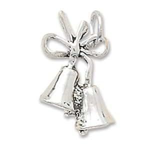 Amazon 925 Sterling Silver Wedding Bells Charm Jewelry