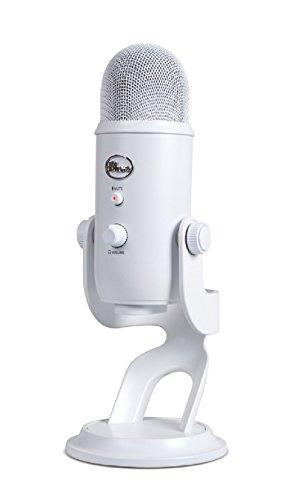 Blue Microphones Yeti USB Microphone, Whiteout (Renewed)