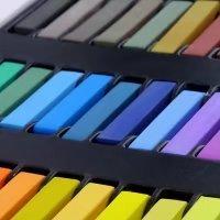 Temporary Hair Chalk Set Non-Toxic Hair Color Cream Rainbow Color Hair Dye(36pcs) by Mily (Image #7)