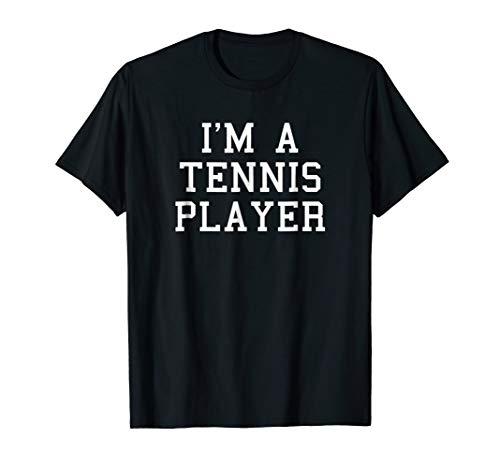 I'm A Tennis Player Funny Halloween Costume T-Shirt
