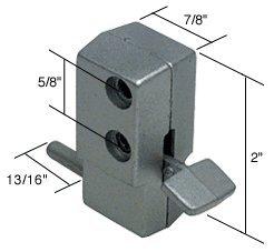 Aluminum ''Step-On'' Patio Door Lock
