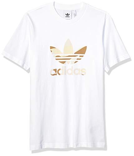 adidas Originals Men's Camo Infill Tee, White/Multi, Medium