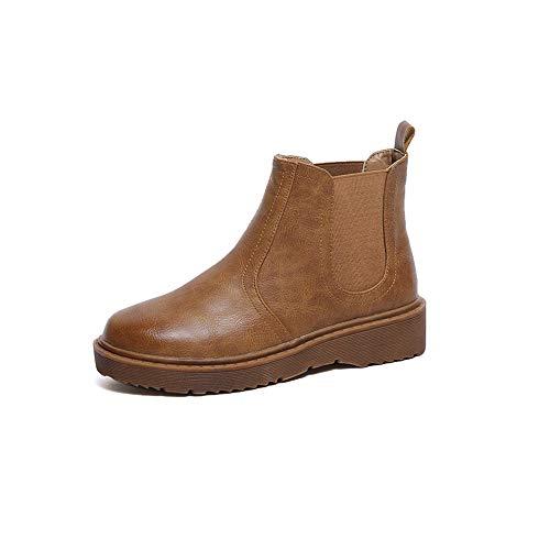 elsea Boot Classic Bootie Comfort(Brown-38/7 B(M)) ()