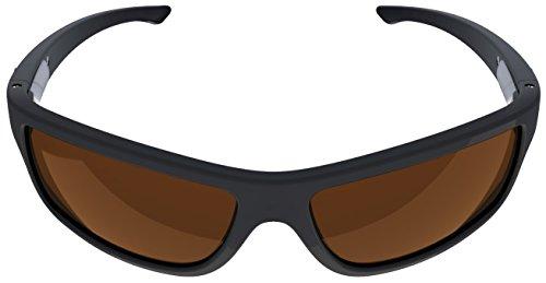 Charlie V Premium American Made Sunglasses with Polarized Lenses (Matte Black, - American Made Eyewear