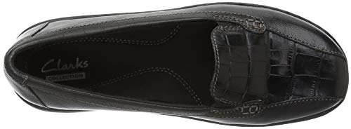 Leather Leather Clarks Clarks Clarks Clarks Black Black Black Black Leather wqvz4UI