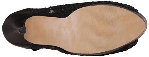 Fabulicious BELLA-28 Blk Satin-Lace Size UK 5 EU 38