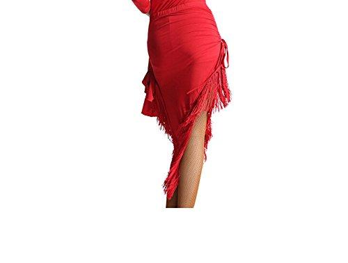 Motony - Falda - para mujer Rosso