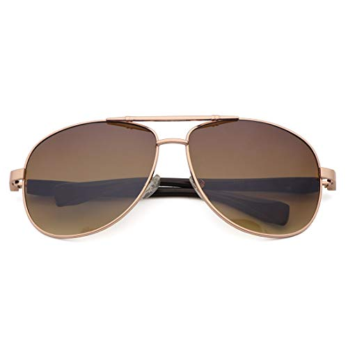 Tea Mirrored Men Frame Sakuldes for Soleil Gold Lens Tea Frame Rimless Lunettes Lens Lunettes de de Soleil Gold Color surdimensionnées qABnYn6wt