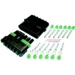 Fastronix Weather Pack Connector Kit (6-Pin)