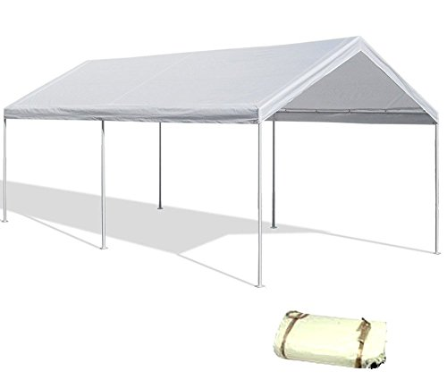 canopy replacement cover white tarp