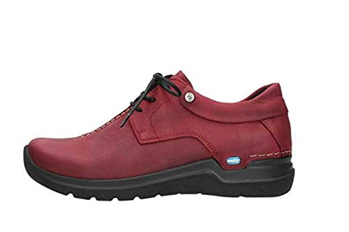 Wolky à Rouge Comfort Wasco Lacets Chaussures ZqvqC