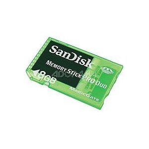 SanDisk SDMSG-4096-A11 4GB Memory Stick PRO Duo for PSP Gaming