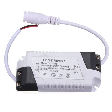 Led Drivers - 18w Led Driver Transformer Power Supply For Bulbs Ac86-265v - Led Bulb Driver 300ma Dimmable - 30v - 1PCs