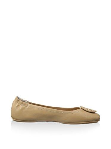 Tory Burch Minnie Travel Ballet Rovere Chiaro Piatto