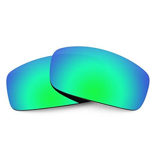 Verres de rechange pour Spy Optic Hielo — Plusieurs options Polarisés Elite Rogue Vert MirrorShield®
