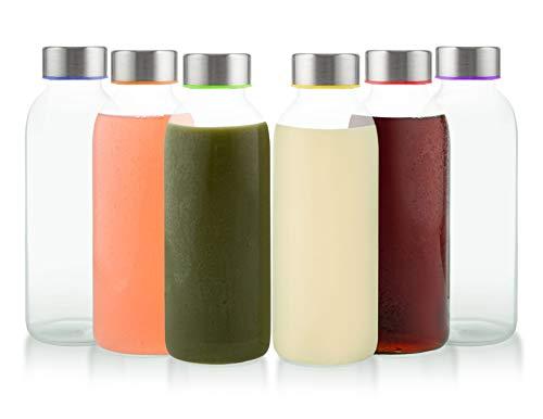colored beverage glasses - 6