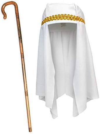 De Robelli® - Disfraz de Pastor para niños de 2 Piezas – Sombrero ...