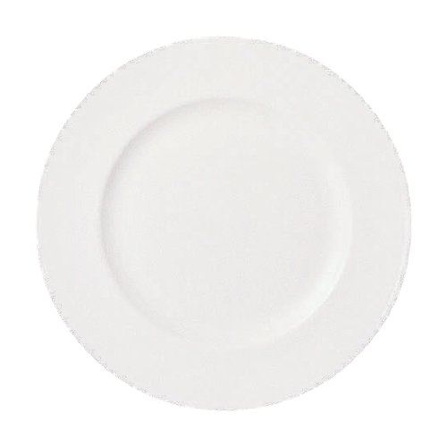 - Wedgwood 0010541004 White 10-3/4-Inch Dinner Plate