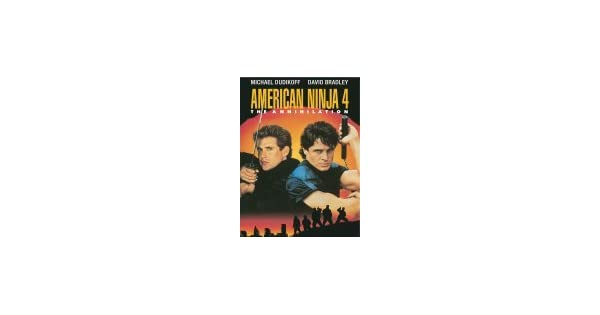 Amazon.com: American Ninja 4: The Annihilation: James Booth ...