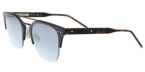 Sunglasses Bottega Veneta BV 0146 S- 002 BLUE / SILVER - Sunglasses Bottega Veneta