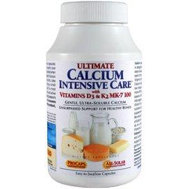 Ultimate Calcium Intensive Care with Vitamins D3 & K2 MK-7 100 60 Capsules