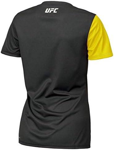 Reebok UFC Fight Kit T-Shirt pour Femme Noir//Jaune