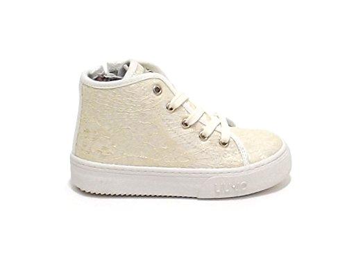 liu jo , Baskets pour fille beige ivoire (ral 1013)