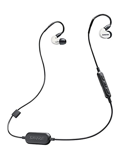 - Shure SE215SPE-W-BT1 Wireless Sound Isolating Earphones with Bluetooth Enabled Communication Cable