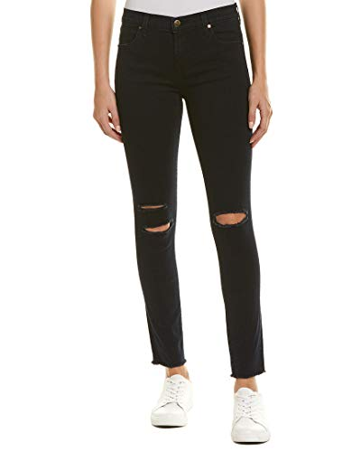 J Brand Jeans Women's 8227 Ankle Mid Rise Skinny Jean, Blue Mercy, 27 from J Brand Jeans