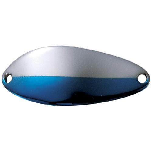 - Acme Little Cleo Spoon, 1/16-Ounce, Nickel/Neon Blue