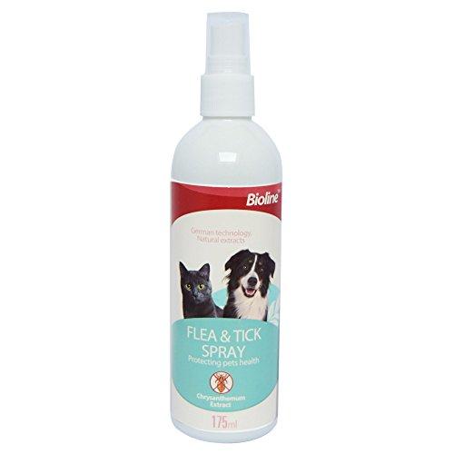 Anti Flea & Tick Spray (175ml) Treatment for Dogs, Cats & Pets Using...