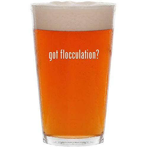 (got flocculation? - 16oz All Purpose Pint Beer Glass)