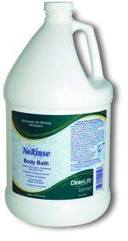 No-Rinse Body Bath with Odor Eliminator, No Rinse Bath Sol 1 Gal, (1 CASE, 4 EACH)