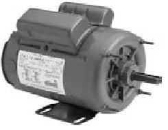 1hp 1800RPM 56 Frame 230/115volt Farm Building Belted Fan AO Smith/Century Electric Motor # C582